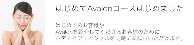 はじめてAvalon_バナー